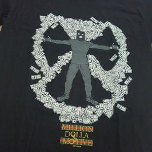 100% preshrunk cotton t-shirt